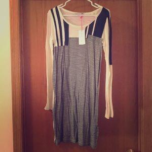 See by Chloe long sleeve tee dress